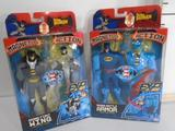 Batman Magnetlok Action Figures, Magna Battle Armor, and Magna Fight Wing