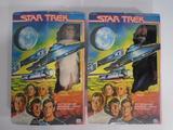 Vintage Star Trek Action Figures, Arcturian, and Klingon Commander 1979
