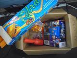 Assorted Toys incl. Matchbox Car Wash Adventure Set, Hotwheels Cobra Stunt Set, etc