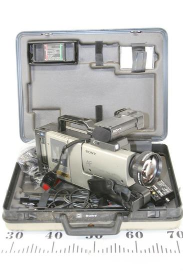 Sony Video Camera Recorder CCD V110 in Hard Case And Accessories.
