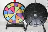 Spinning Raffle Wheel 2 units approx 16-20 inch