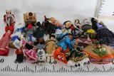 Assorted Cultural Traditional Collectible Dolls in plastics, paper mache, wood etc.