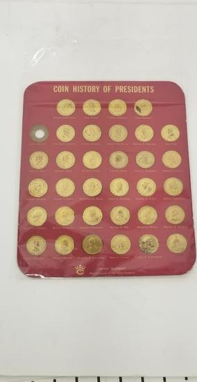 Collectible Coins History Of Presidents