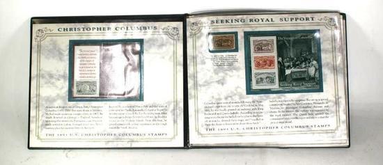 1893 Christopher Columbus Stamps in Album