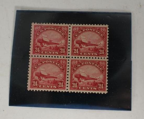 1923 24c US Stamp 4 units