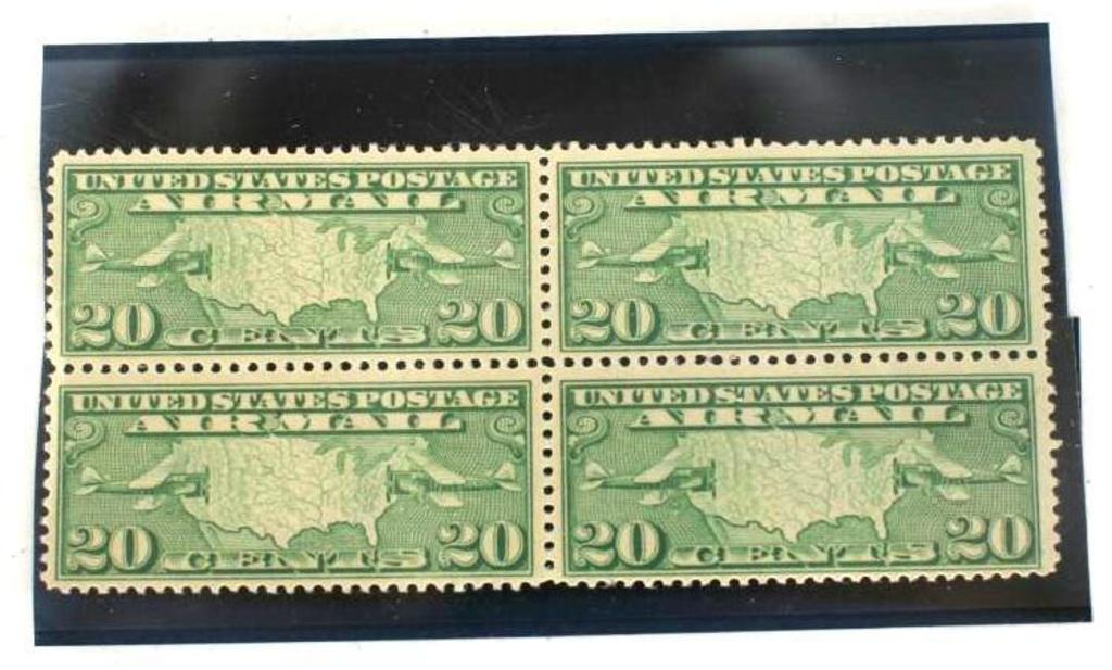 20 Cents Airmail Stamp 4 units