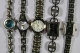 Various Watches, Liz Claiborne, Gramercy, L.E.I., and Anne Klein 5 Units