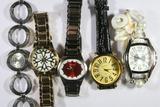 Various Watches, Du Monde, Narmi, Bongo, etc. 5 Units