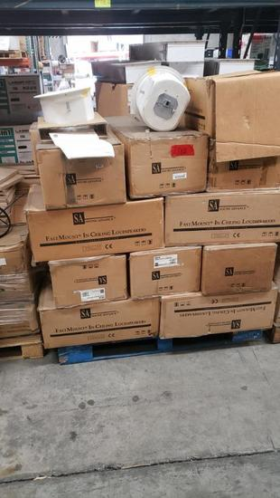 SA Sound Advance FastMount In ceiling Loudspeakers entire Pallet 20 units looks NIB