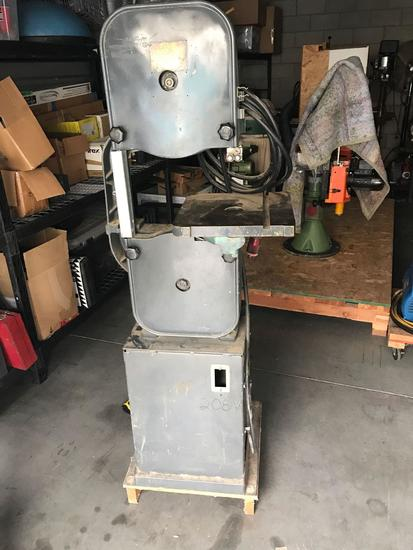 Chicago Electric Woodworking Standing Band Saw