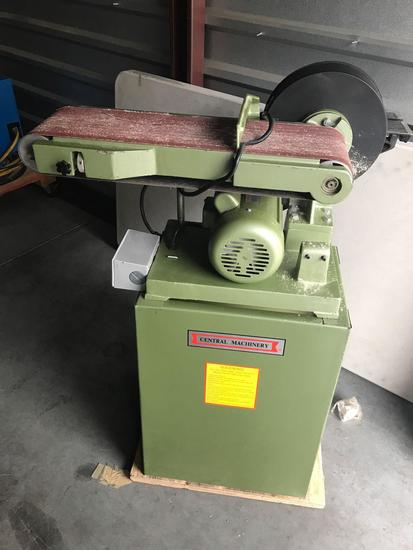Central Machinery Belt And Disc Sander