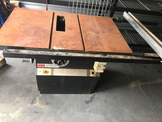 Dayton 12 Inch Table Saw Model 3Z997D 220v 1ph 5hp Powers on