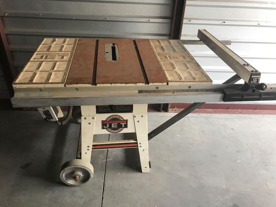 Jet Special Edition 10 Inch Contractor Table Saw JWTS-10 1.5HP