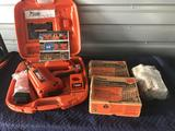 Paslode Cordless Framing Nailer with Nails And Fuel Cells
