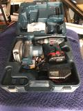 Bosch 18v Circular Saw Drill Battery And Charger Set