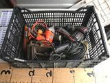 Crate of Power Tools Clamp 6 Units Dewalt Black and decker Ramset SA270 Hitachi