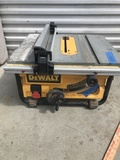 Dewalt 10 Inch Portable Table Saw