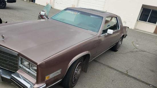 1984 cadillac eldorado runs all leather 119k miles