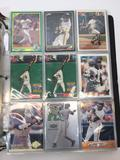 Collectibles Cards Album- Binder With Baseball Cards