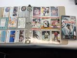 Binder of NHL Cards and Gretzky Video Game PSP