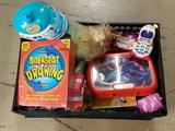 Crate of Toy's-Barbie's- Kids Play Dr. Set- Game- Disney's Frozen Toy's