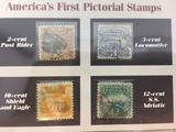 Americas First Pictorial Stamps