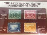 The 1913 Panama-Pacific Commemorative Stamps