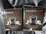 Keurig K525 Single Serve, K-Cup Pod Coffee Maker - 2 Units - Store Returns