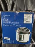 Insignia 6 Quart Multi-Function Pressure Cooker - 4 Units - Store Returns