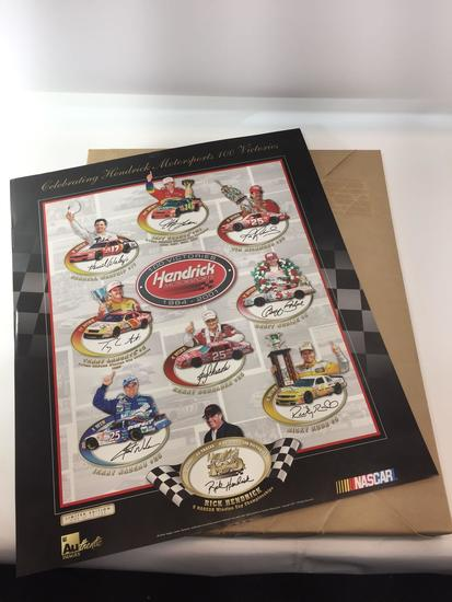 Hendrick Motorsports 100 Victories - Bulk Lot of 200 Posters - 24in Tall, 20in Wide