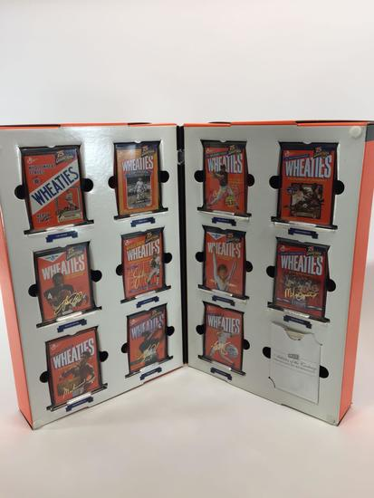 Wheaties 11 Mini-Box Matched Set w/ 24k Gold Signature Replicas