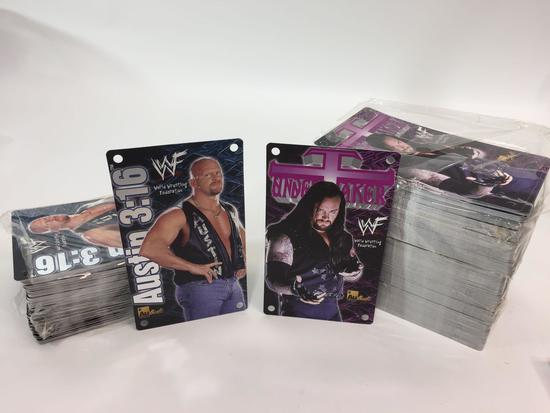 WWF 1999 - Undertaker (250) and Steve Austin (125) Bulk Lot of 375 Limited Edition Cards