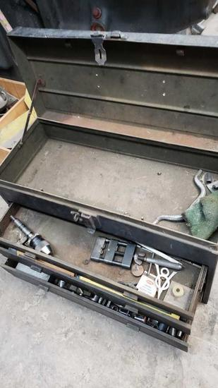 vintage tool box entire contents Location:... Rear Shop