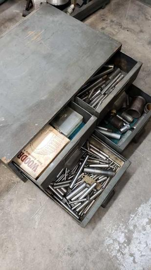 box of machinist tools Location: Rear Shop