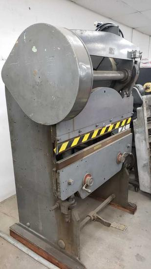large machine brake press aw electric 2hp motor Location: Rear Shop