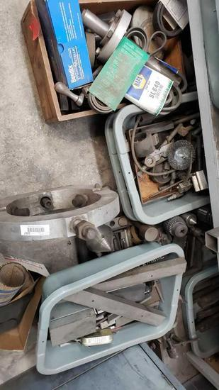 misc brushes grinding wheels jigs etc Location:... Rear Shop