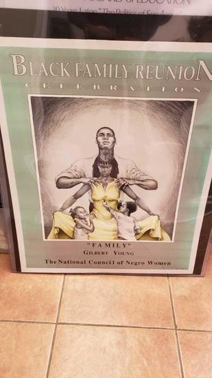 african art poster black family reunion Location:... Front Shop