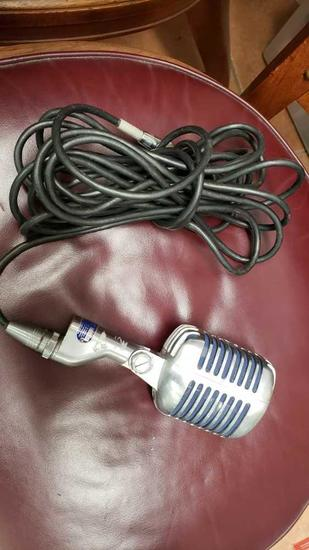 unidyne microphone mic w/cord Location:... Front Shop
