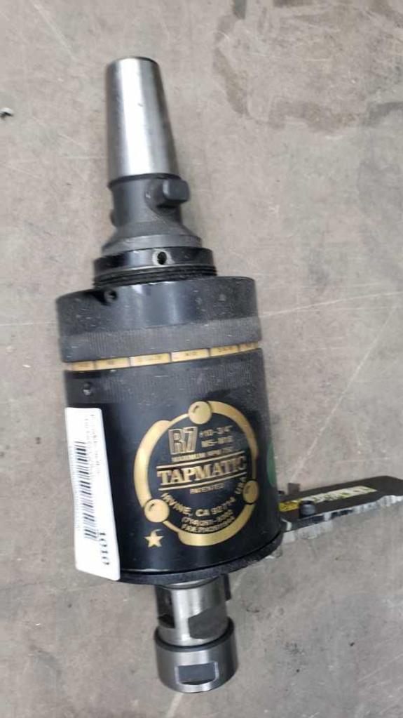 tapmatic r7 m5-m18 #10-3/4 Location: Rear Shop