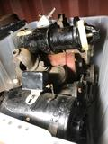 Crate of Vintage Car Water Pumps 8 Units Location Cargo Container