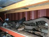 Entire Shelf of Vintage Chrysler Buick Car Parts Location Cargo Container