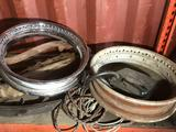 Entire Shelf Vintage Car Parts Various etc Location Cargo Container