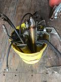 Bucket Of Grease Guns 9 Units Location Cargo Container