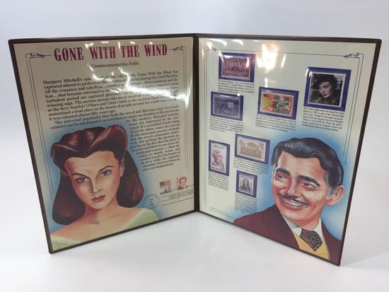 Gone With the Wind Commemorative Folio Stamp Collection