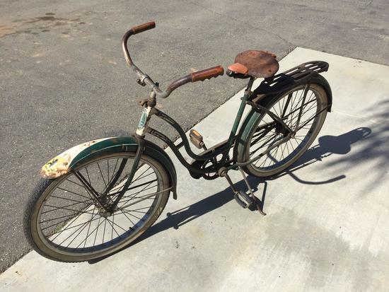 Vintage B.F. Goodrich Schwinn Built Bicycle - 44in Wheelbase - 26in Tire