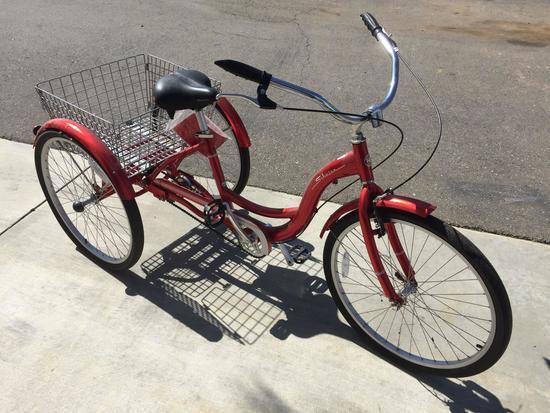 Vintage Schwinn Tricycle - 50in Wheelbase - 26in Tire