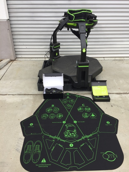 Virtuix Omni - Omnidirectional Treadmill Simulator for Virtual Reality