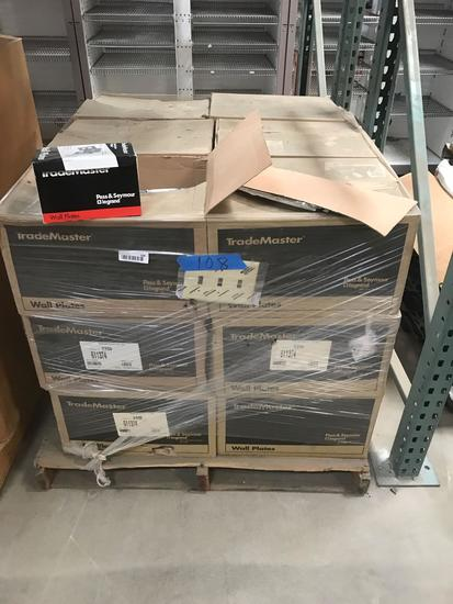 Pallet of Trade Master Wall Plates Electrical location Southside Pass Seymour