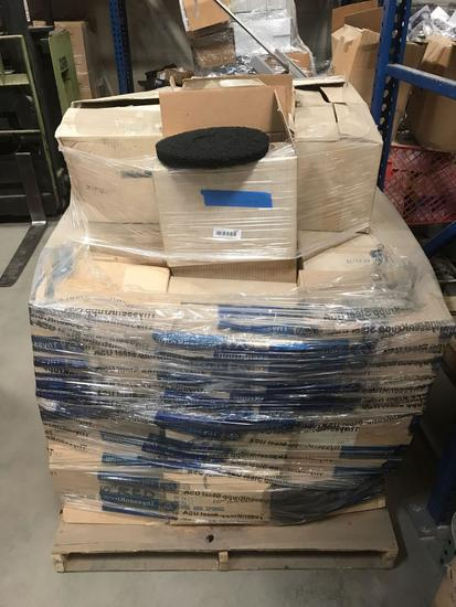 Pallet of Commercial Floor Pads