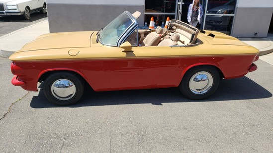 1964 Corvair Monza Custom Convertible Car